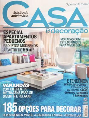 Nosso projeto - Restaurante Japonês - em destaque nesta edição da revista Casa.