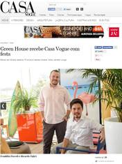 Sala do Surfista. Mais um projeto assinado pelo nosso Studio e em detaque na Casa Vogue online.