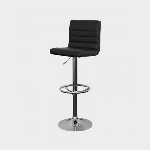 Black Padded Bar Stools