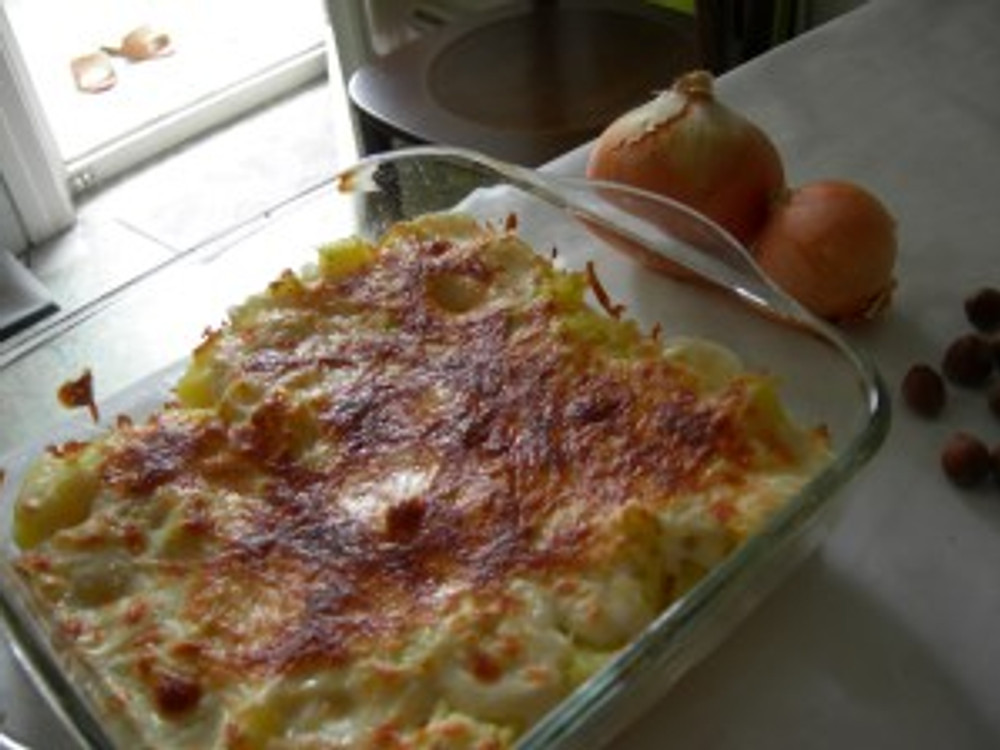 beşamel soslu patates