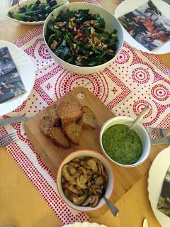 Ekmek Üstünde Bu Hafta: Roka Pesto & Sote Mantar