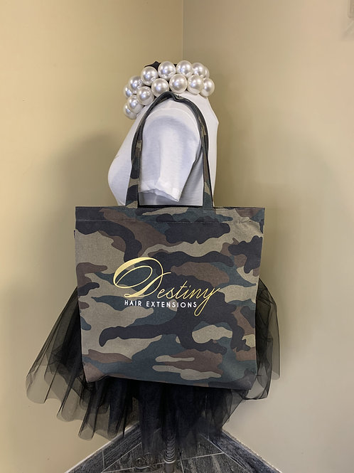 Destiny Camouflage Tote Bag