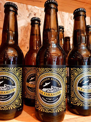 Bière 33 cl La Faramine blonde