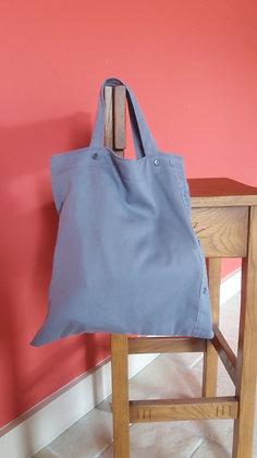 "Tote-bag ""chemise"""