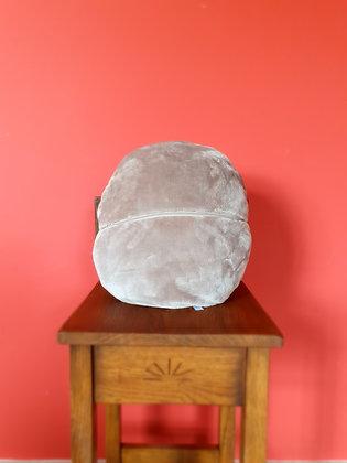 Plaid en Polaire - Coussin GRIS 150x180 cm