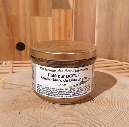Pâté pur Bœuf Raisin & Marc de Bourgogne