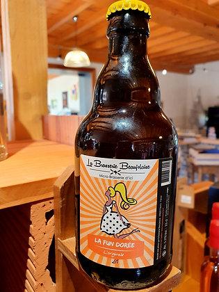 Bière 33 cl La Fun Dorée