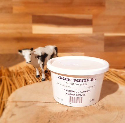 Pot de Crème Fermière