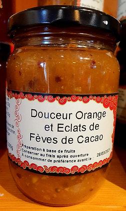 Confiture Douceur Orange et Eclats de Fèves Cacao