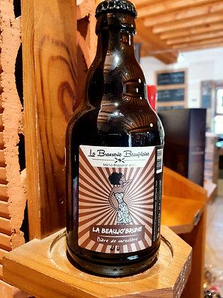 Bière 33 cl La Beaujo'Brune