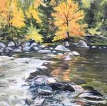 Autumn at Split Rock Falls - SOLD