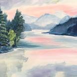 Paradox Lake at Sunrise - $700