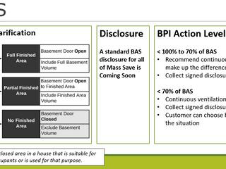 BAS Clarification
