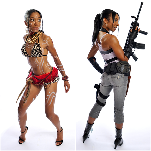 Autographed Sheva Cosplay Pix Collection