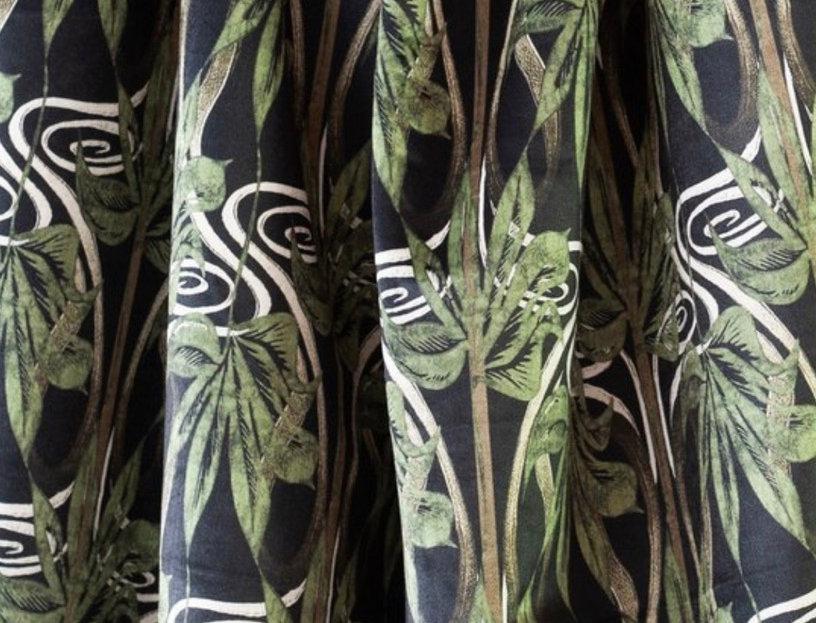 DIANNE Green Velvet Sample