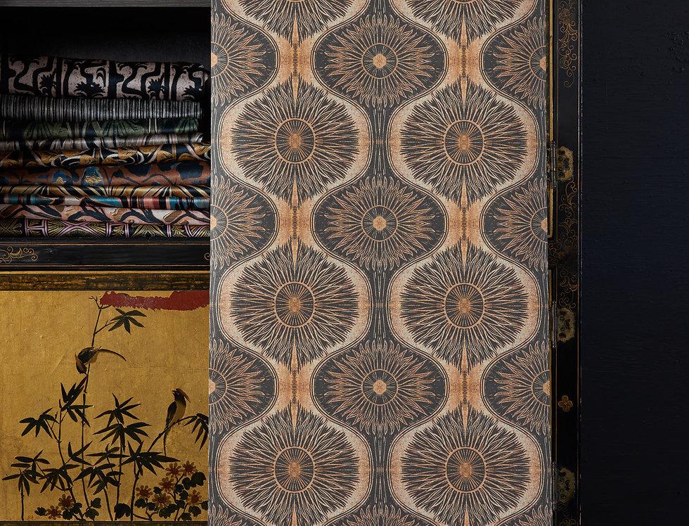 BIBANA Gold Wallpaper