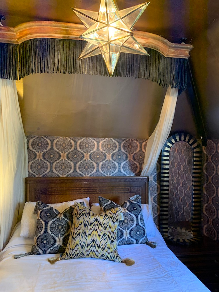 Anna Hayman house bedroom