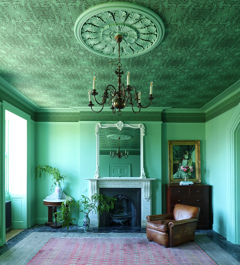 Decorating with Green - Interior design by Anna Hayman