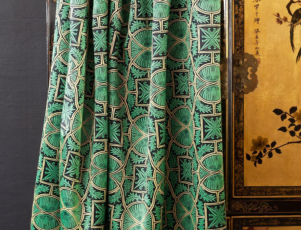 SGT. PEPPER Arsenic Velvet Fabric