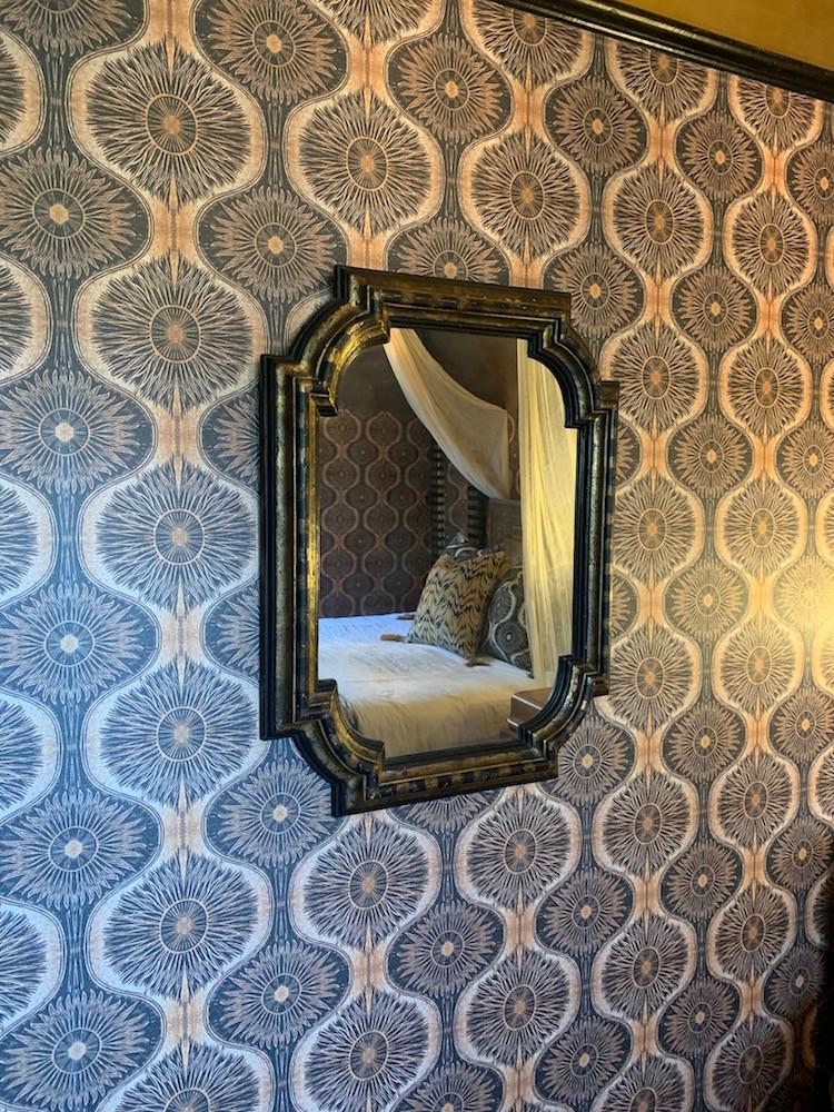 Anna hayman house bedroom wallpaper
