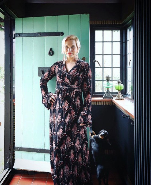 At home with designer Anna Hayman