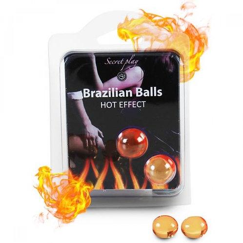 Brazilian balls efecto calor