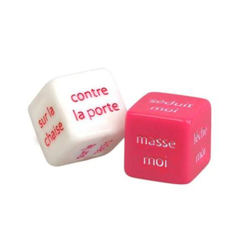 EROTIC DICE FRENCH ADRIEN LASTIC