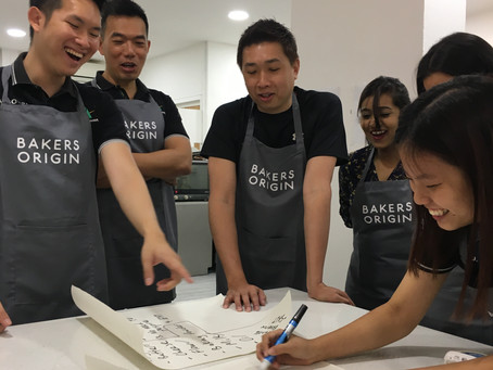 Why baking as a team-building activity?