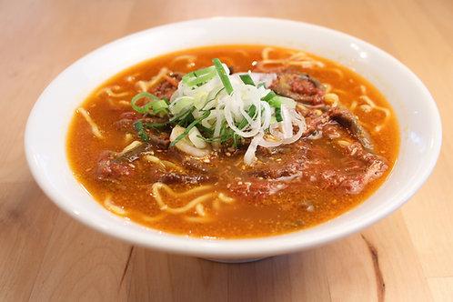 【1辛】からなりのユッケジャンラーメン ※麺も付いてます。