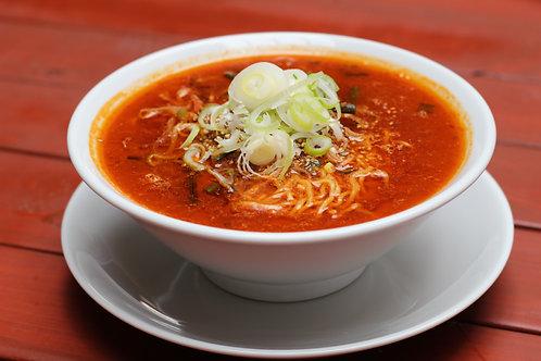 【3辛】からなりのユッケジャンスープ ※麺も付いてます。