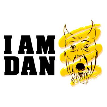 I AM DAN Comedy Logo