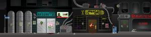 Cyberpunk slums
