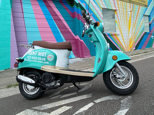 8 Hour Scooter
