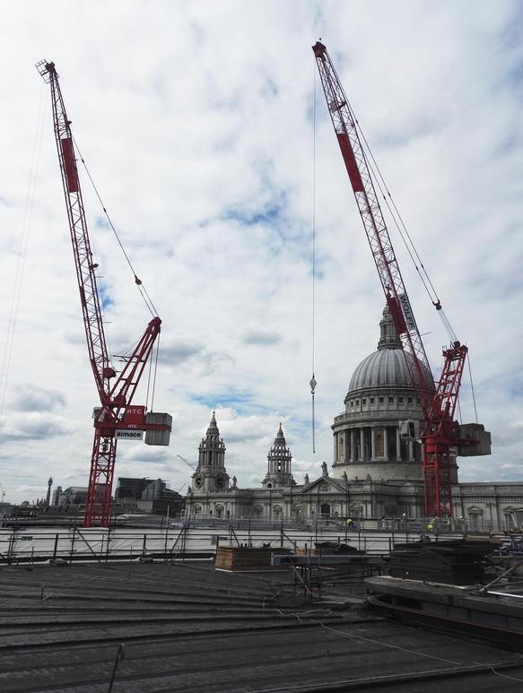 View of St Paul's from New Braken House