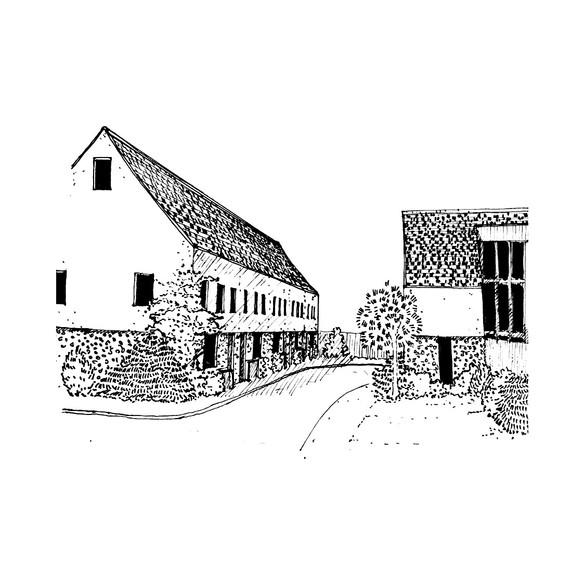 terraced cul-de-sac