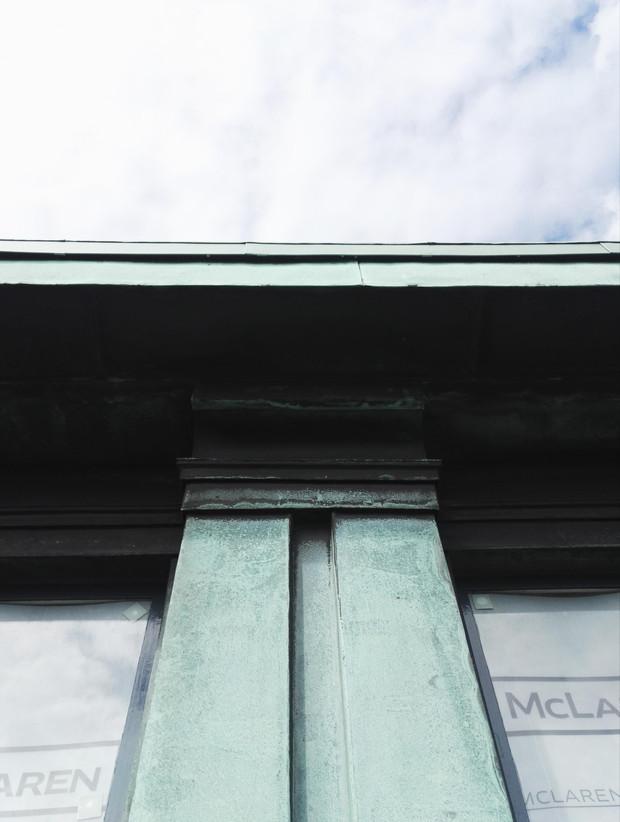 New Braken House Existing Copper Cladding