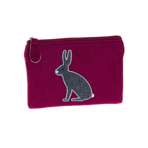 Felt Arctic Hare Coin Purse