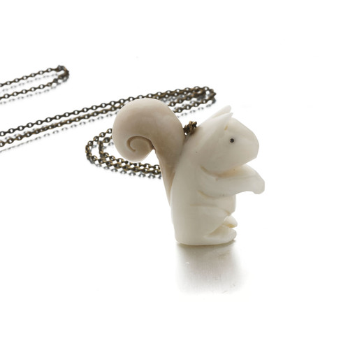 Tagua squirrel pendant just trade ethical jewellery tagua squirrel pendant aloadofball Gallery