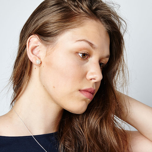 SIlver Cristabel Studs