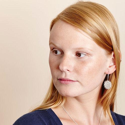 Silver Marisol Earrings - Small