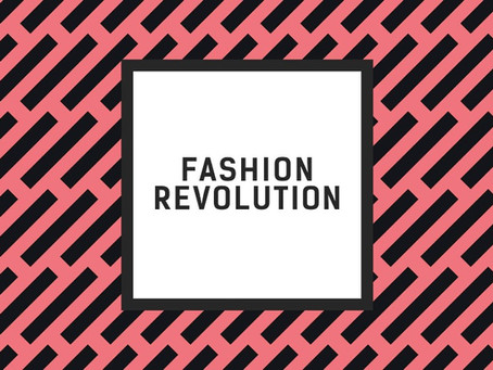 Ecuador Earthquake + Fashion Revolution