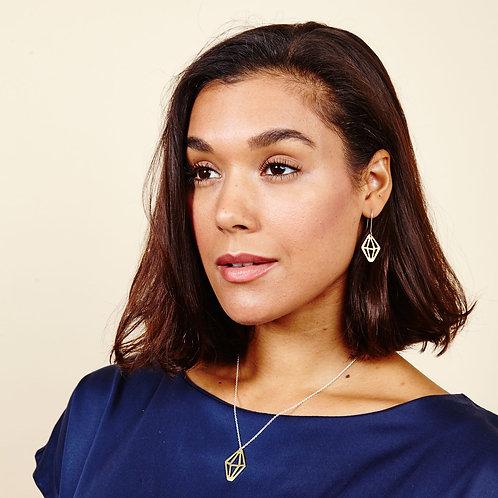 Coralie Crystal Earrings