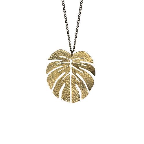 SOT Tropical Leaf Pendant Large