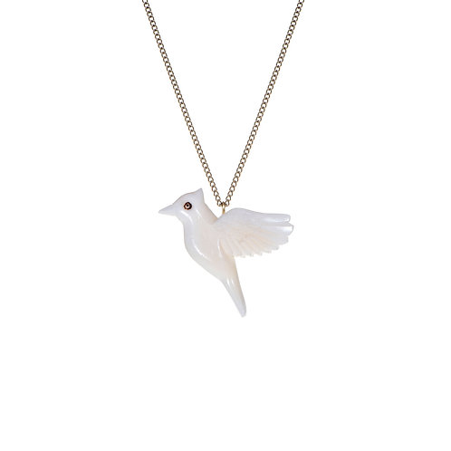 SOT Tagua Flying Bird Pendant