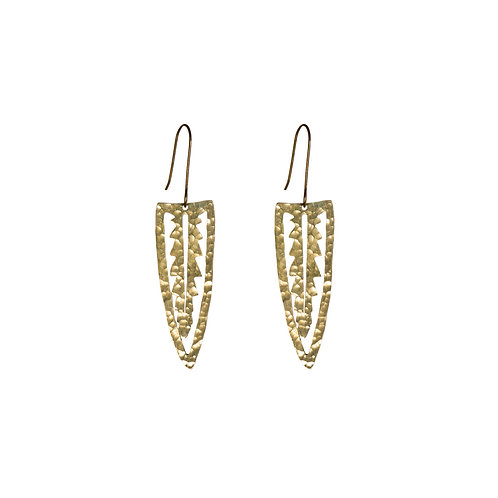 SOT Palm Leaf Earrings Small