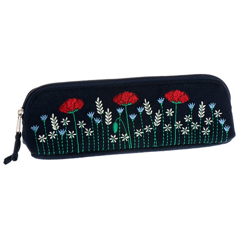 Poppy Meadow Thin Cosmetic Case