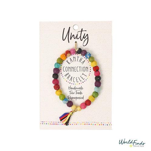 Kantha Bracelet Unity