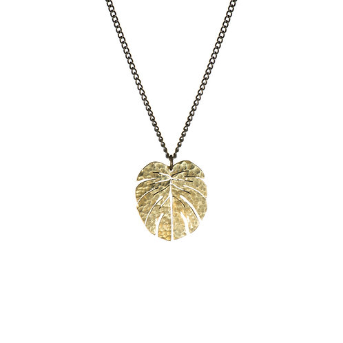 SOT Tropical Leaf Pendant Small