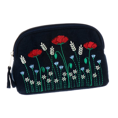 Poppy Meadow Small Cosmetic Case