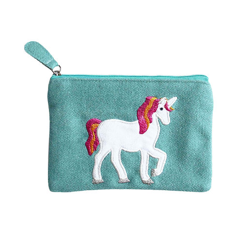 Felt Unicorn Purse